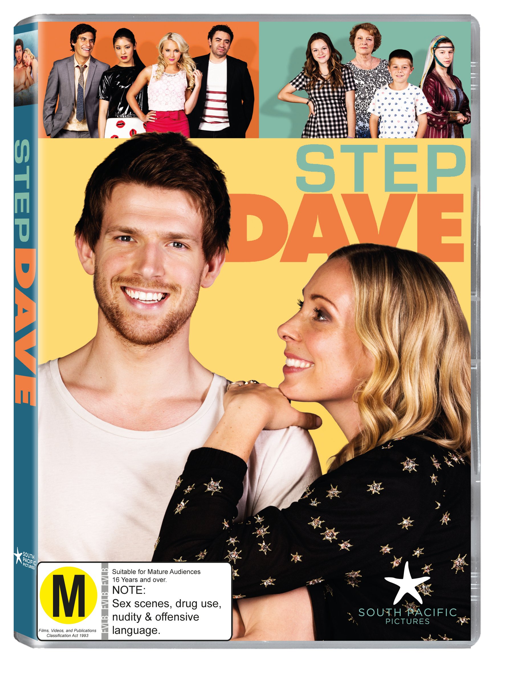 Step Dave season one DVD cover art